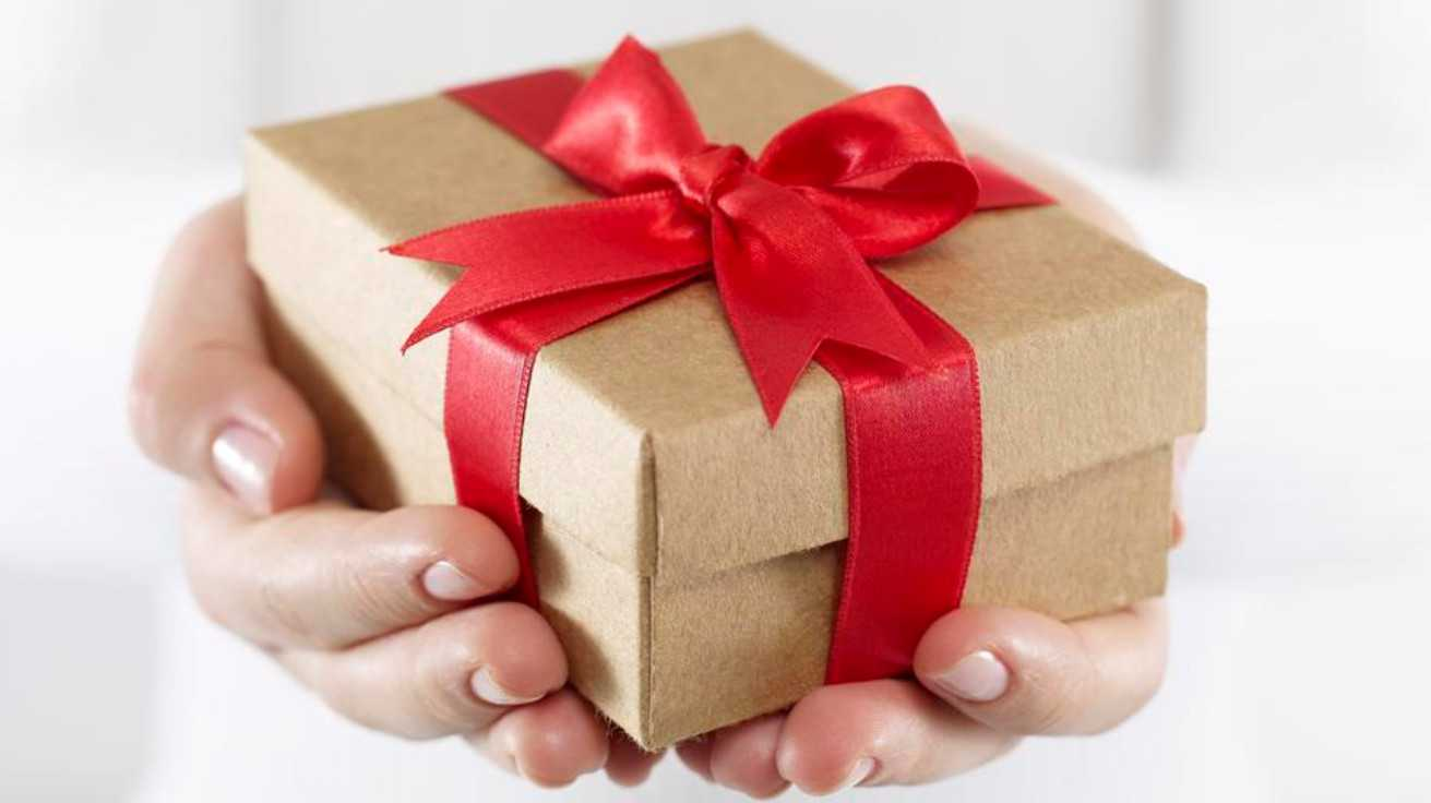 Подарки на день рождения курьером