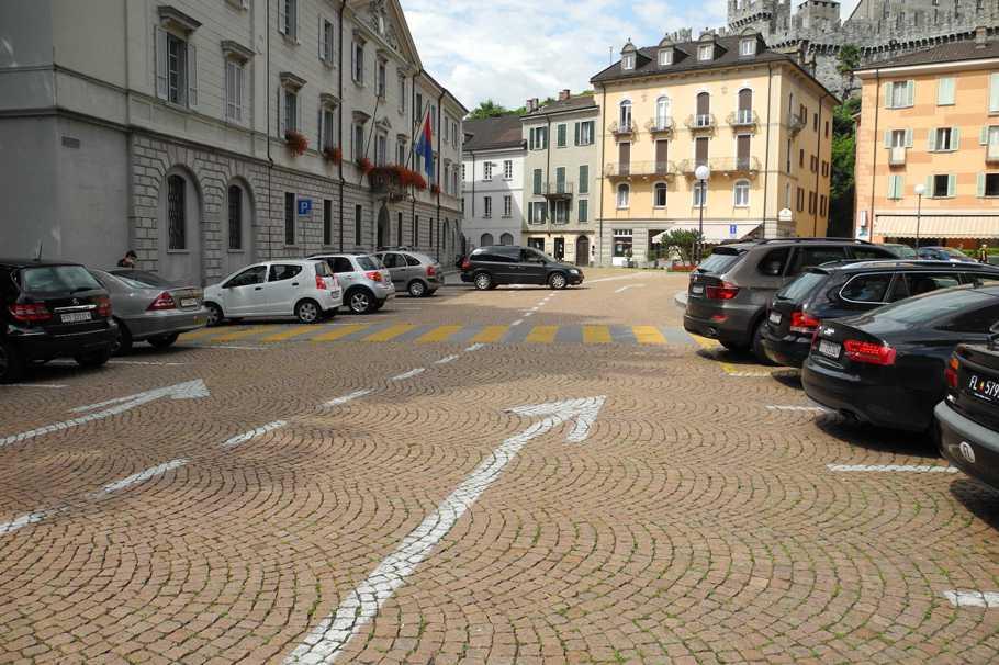 Piazza Governo в Беллинцоне