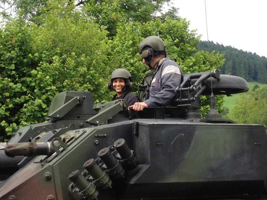 Дорис Лойтхард - настоящий танкист