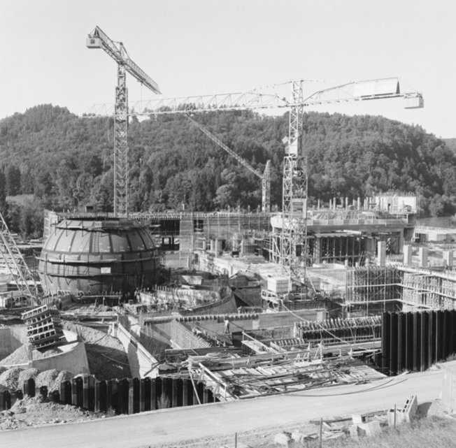Начало строительства, 1968 год