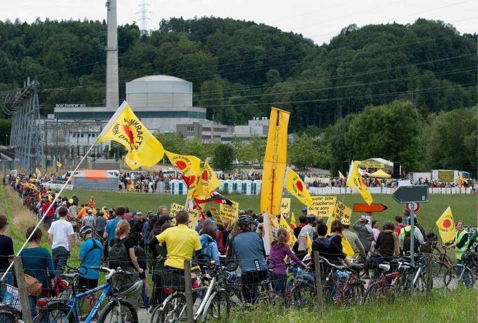 Противники атомной энергетики требуют закрытия АЭС, 2011 год