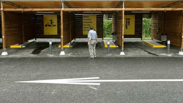 Цюрих парковки секс