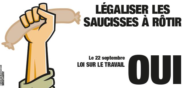 """Скажите """"да"""" легализации сосисок для гриля!"""