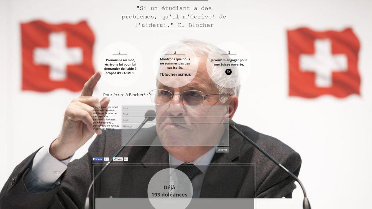 Скриншот сайта helpline-blocher.org