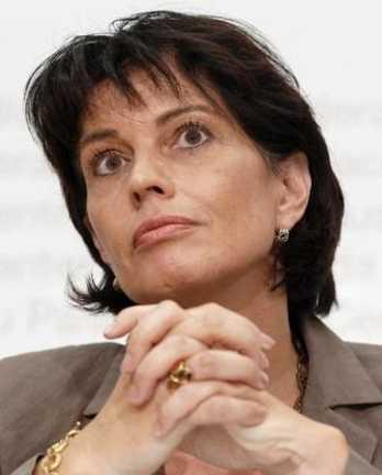 Дорис Лойтхард, министр энергетики, транспорта и окружающей среды Швейцарии