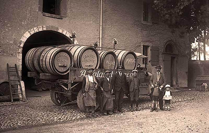 Торговцы вином, Женева, начало 20 века