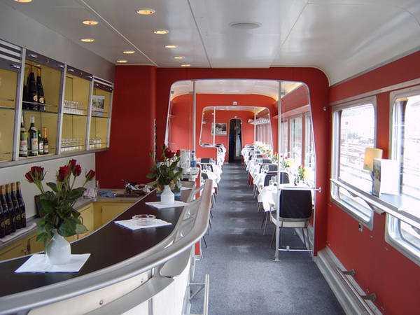 Вагон-ресторан SBB