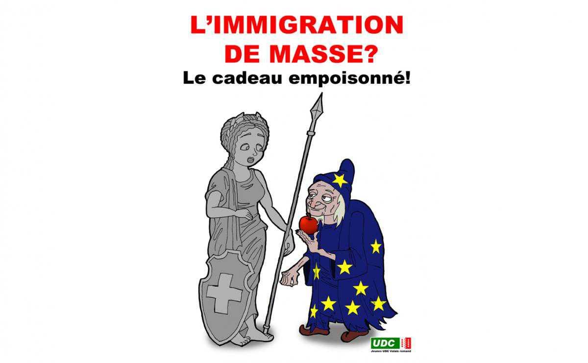 Массовая иммиграция? Отравленный дар, считают представители UDC