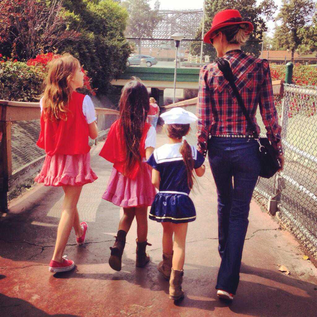 В калифорнийском парке развлечений Knott's Berry Farm