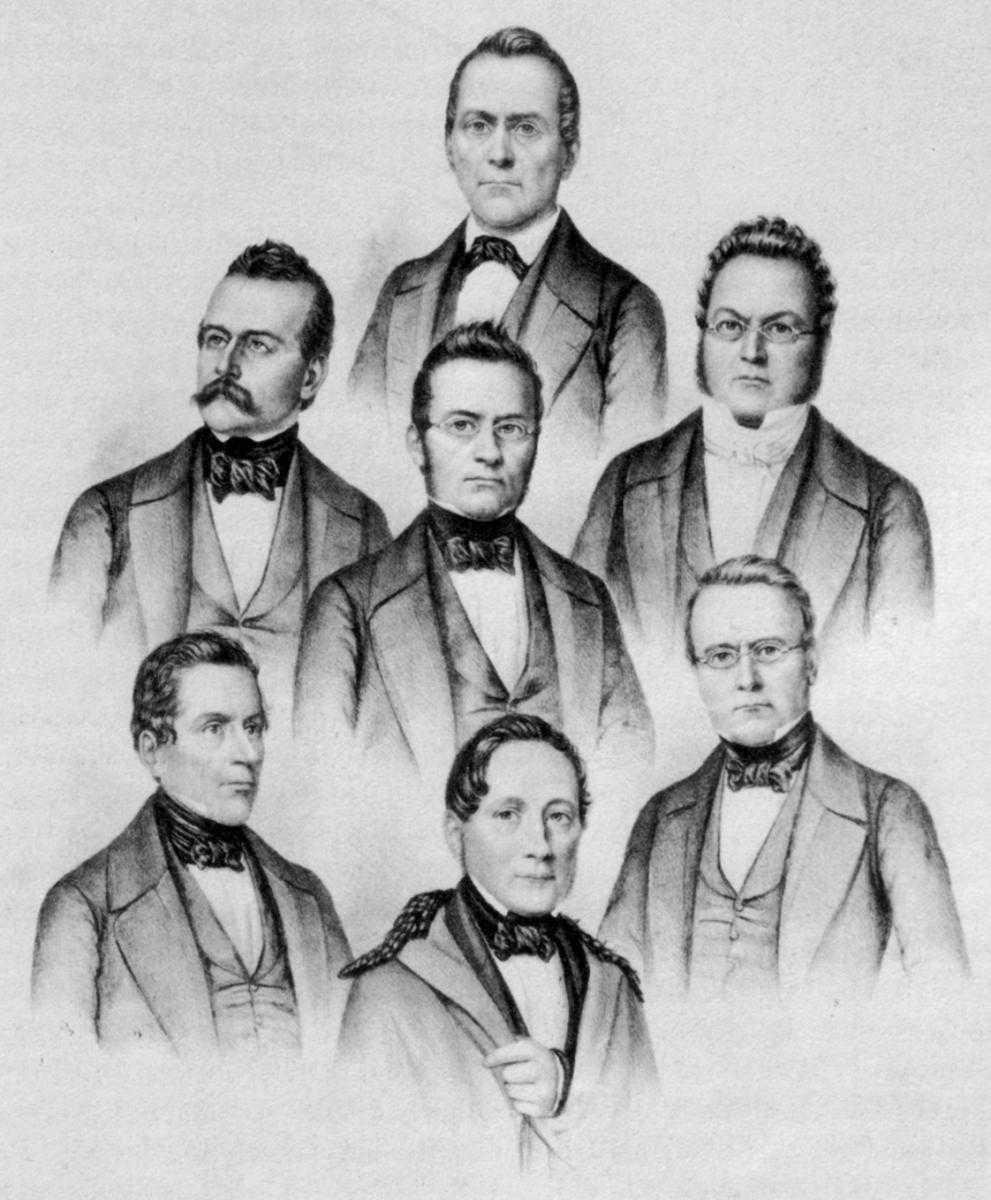 Федеральный совет 1848 года.