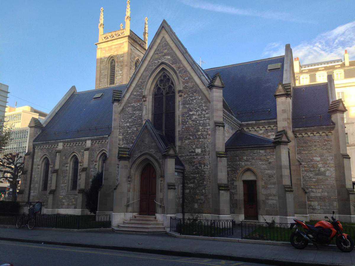 Holy Trinity Church, Женева