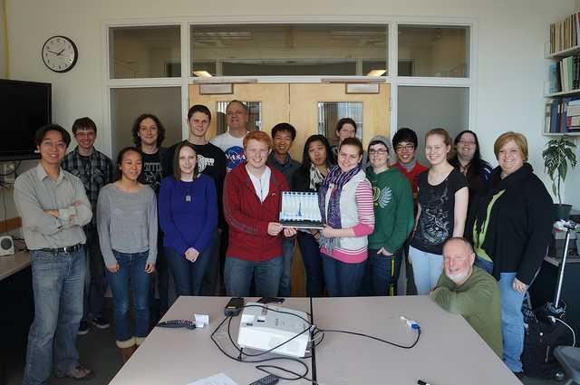 Вашингтонский университет: школьники «открыли» Z-бозон