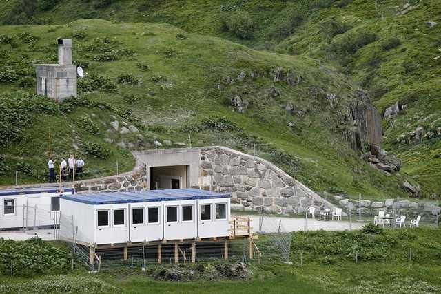 Центр для беженцев возле Реальпа