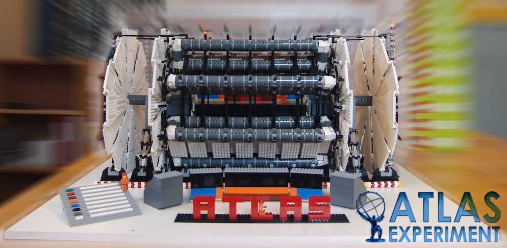 модель детектора ATLAS