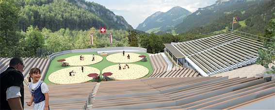 Площадки для швингена ©bruenigschwinget.ch